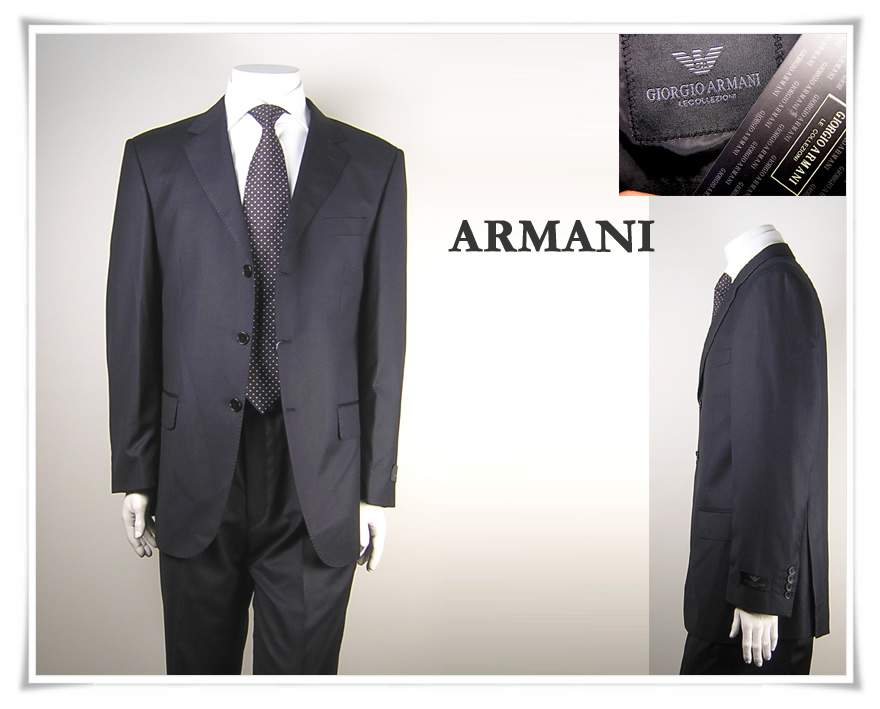 Armani suits collection