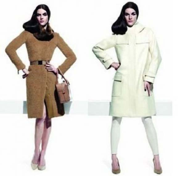 Autumn winter 2011 2012 of Max Mara a series of coats irresistible