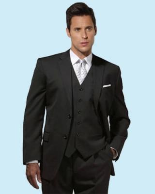 Black 3 piece suits
