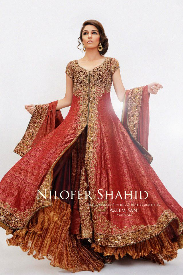 Bridal dresses pictures fashion style trends 2017 for Latest fashion dresses for weddings