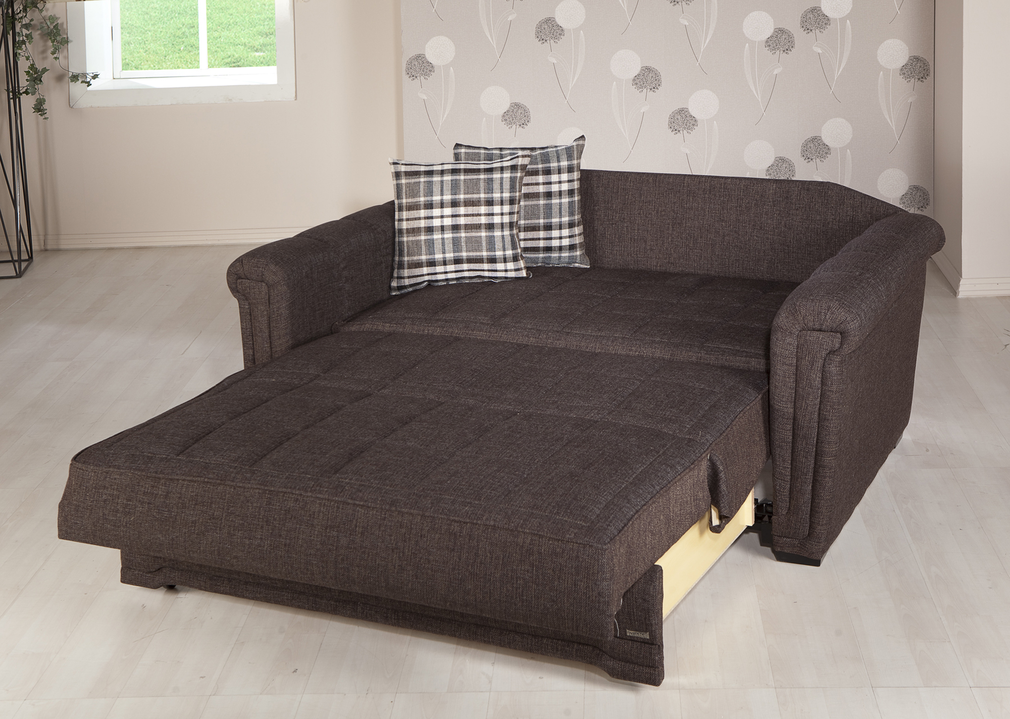 Loveseat Sleepers with Black Color