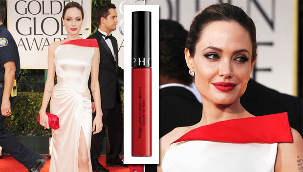 Steal Angelina Jolie's Rich Red Lip