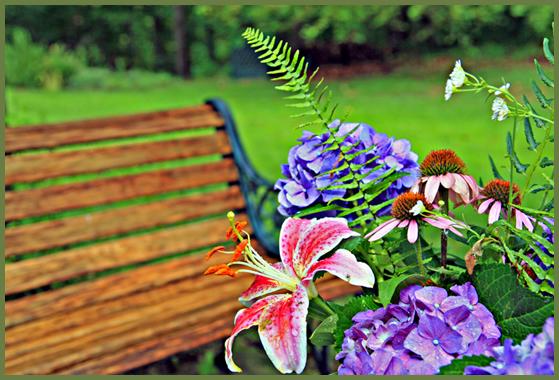 Styles decorative garden