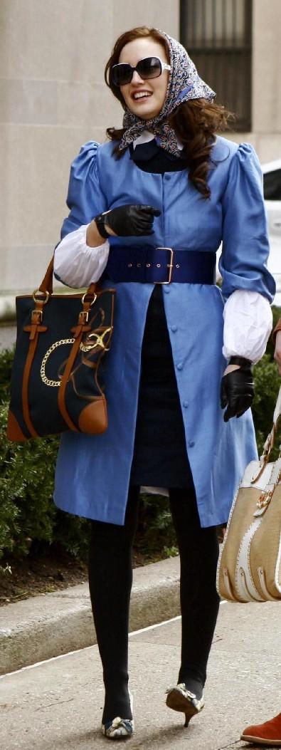 blue coat Design