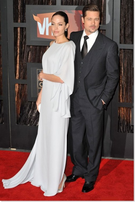 brad pitt 3 piece suits with angelina jolie