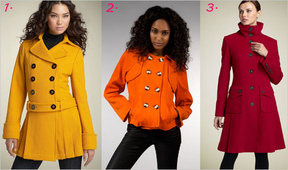 colored coats whats haute