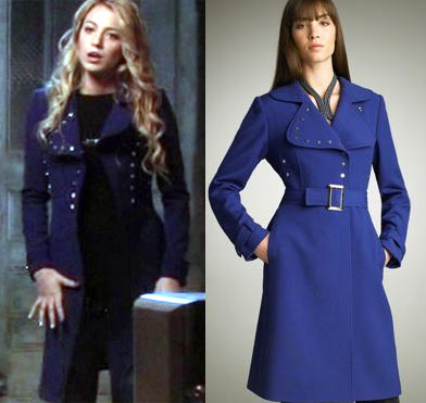 serena blue coat