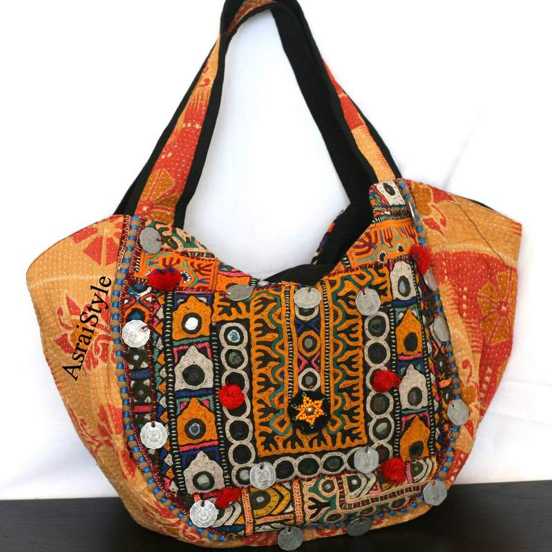 Tribal Fabric Inspired Handbag