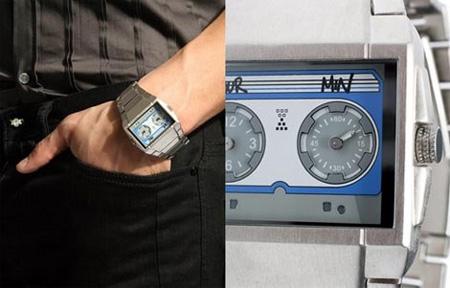 Watch Cassette Tape Shape
