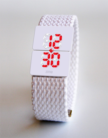 Real Crystal Watch backlit by LED