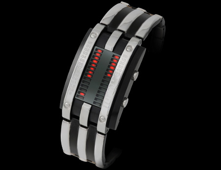 LED Watch with MK2 Circuit