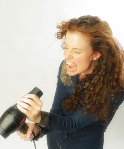 hair dry curly Hair