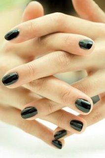 Nail polish dark colors