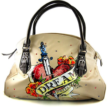 tattoo inspired dream handbag