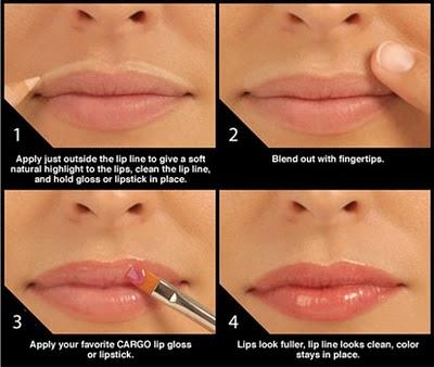Tips pefect lip line