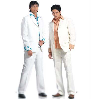 White coat pant
