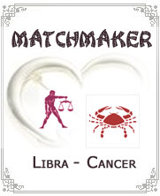 Libra to Cancer Horoscope Compatibility