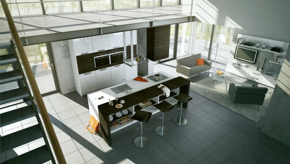 Great Kitchen Design Modern Styles