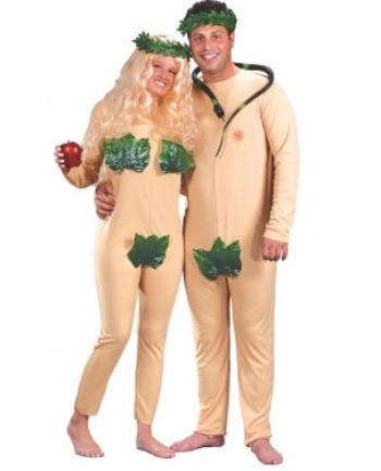 Adam and Eve costumes