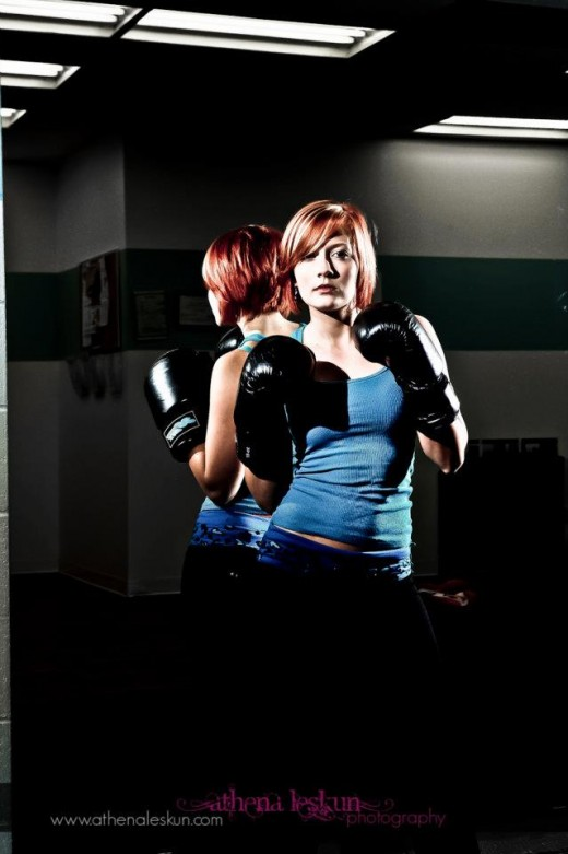 Boxing Practice for Girls Fitness