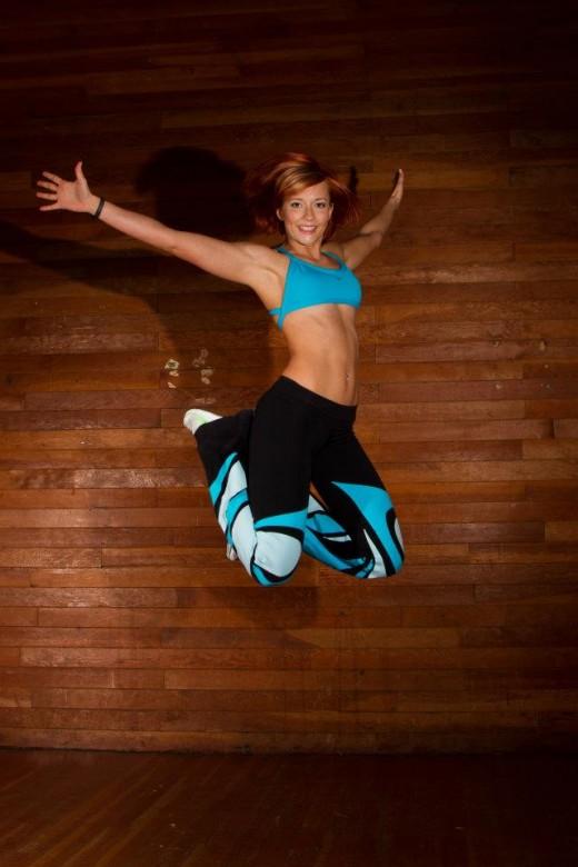 Jumping for Women Fitness