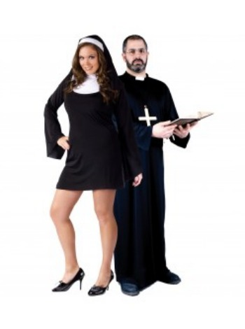 Nun and Priest costumes
