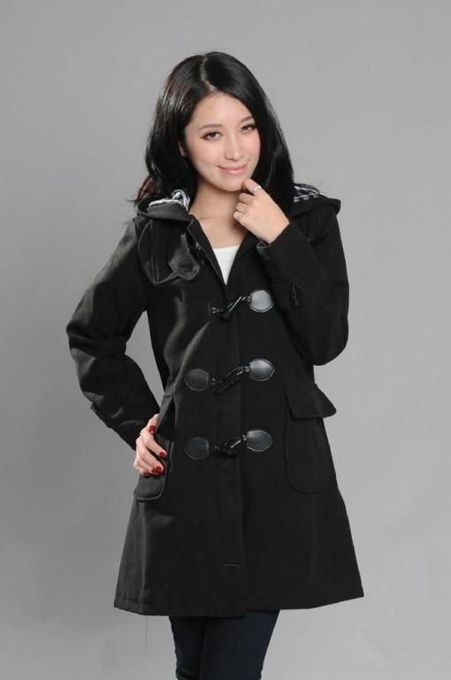 jacket coat casual style long hairstyle korean elegant designs
