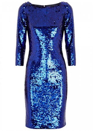 Alice + Olivia sequined dress