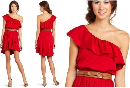 Red dresses for juniors xmas