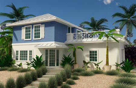 Florida Design Living Area