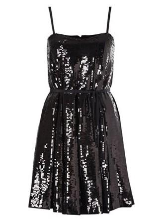 Gem bustier strapless dress