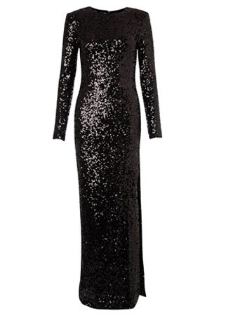 French Connection sequined maxi dress