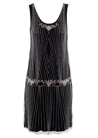 H&M beaded dress