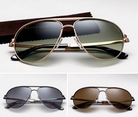 James Bond Skyfall Sunglasses by Tom ford