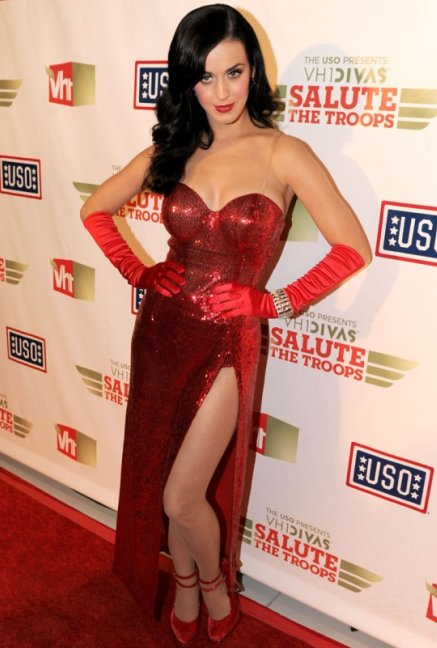 Katy Perry in Red Dress