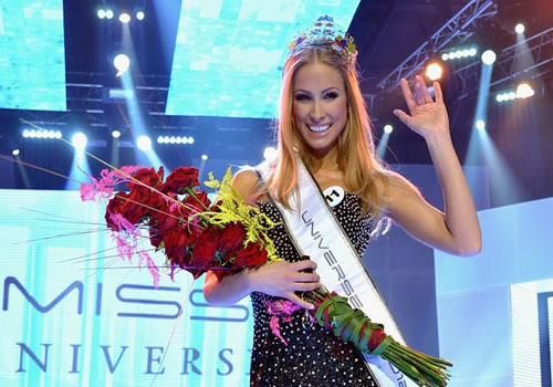 Miss Slovak Republic Competing Miss Universe 2012 ... Lubica Stepanova