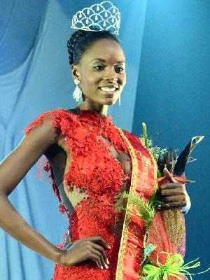 Miss Angola Competing Miss Universe 2012 Fashion Style