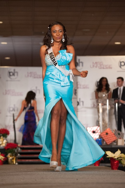 Miss Nigeria Competing Miss Universe 2012 Fashion Style