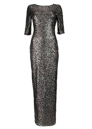 New Look sequined gown