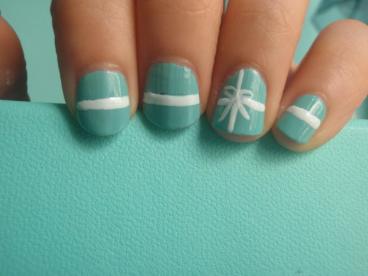 Tiffany's Box Nails