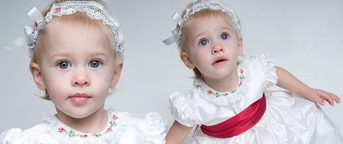 Christmas baby girl dresses by Baby Beau & Belle