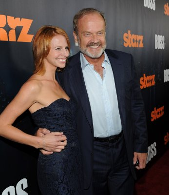 Kelsey Grammer with wife Kayte Grammer