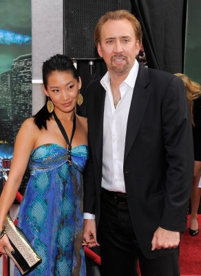 Nicolas Cage and third wife Alice Kim Cage