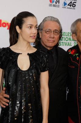 Edward James Olmos with third wife Lymari Nadal