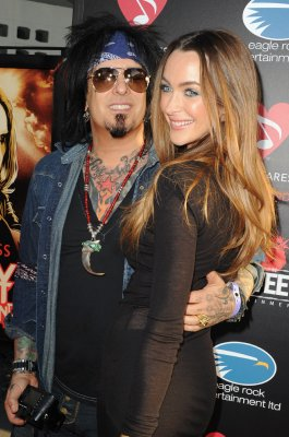Motley Crue bassist Nikki Sixx  and fiancee Courtney Bingham