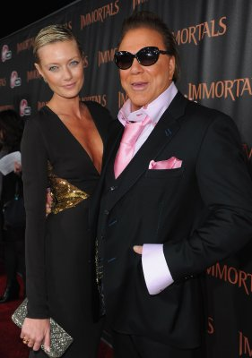 Mickey Rourke and Russian girlfriend Anastassija Makarenko