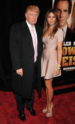 Donald Trump and wife Melania Trump