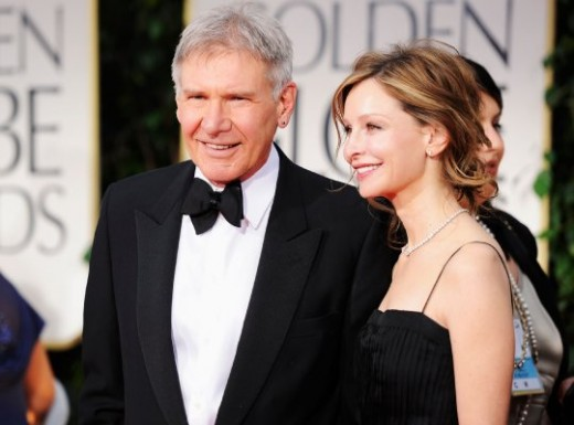 Actors Harrison Ford and Calista Flockhart