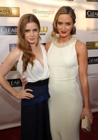 Amy Adams and Emily Blunt