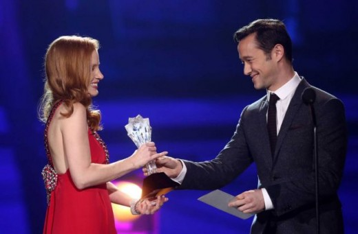 best actress award to Jessica Chastain